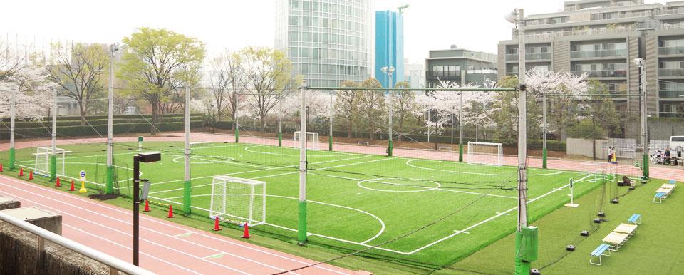 東京体育館フットサル場(屋外)